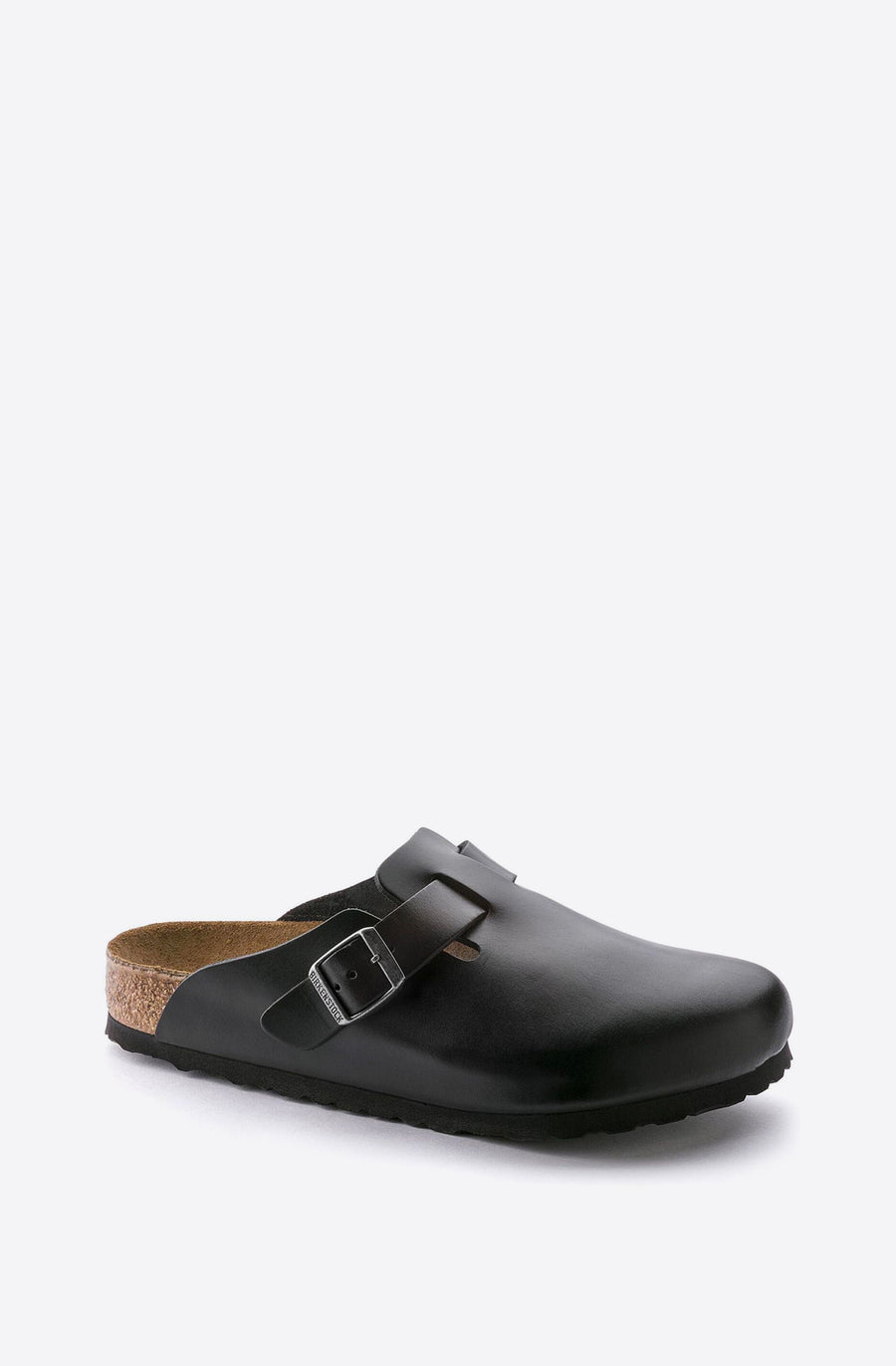 Boston Amalfi Leather Slip-On-black
