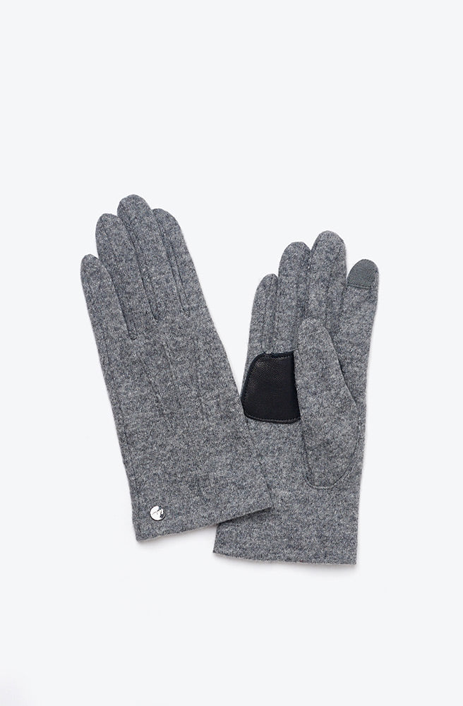 Water Repellent Classic Touch Glove-heather grey