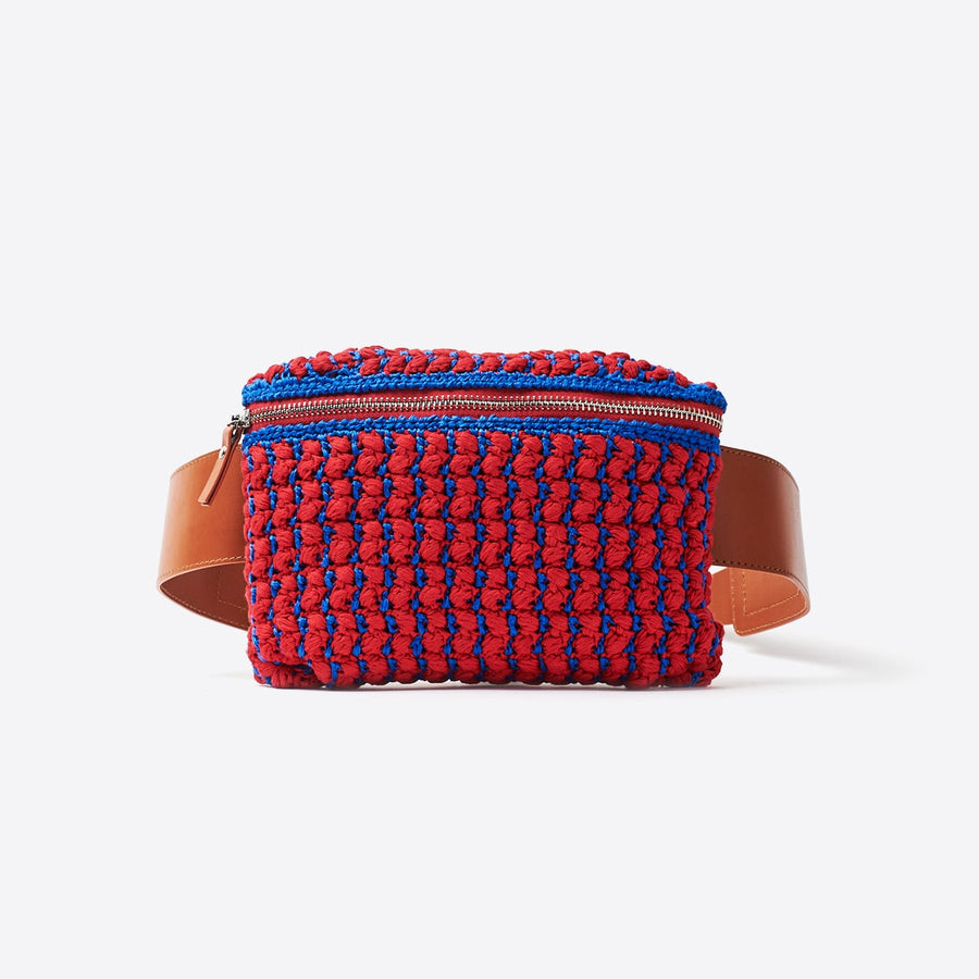 Hagen Fanny Pack-red/blue