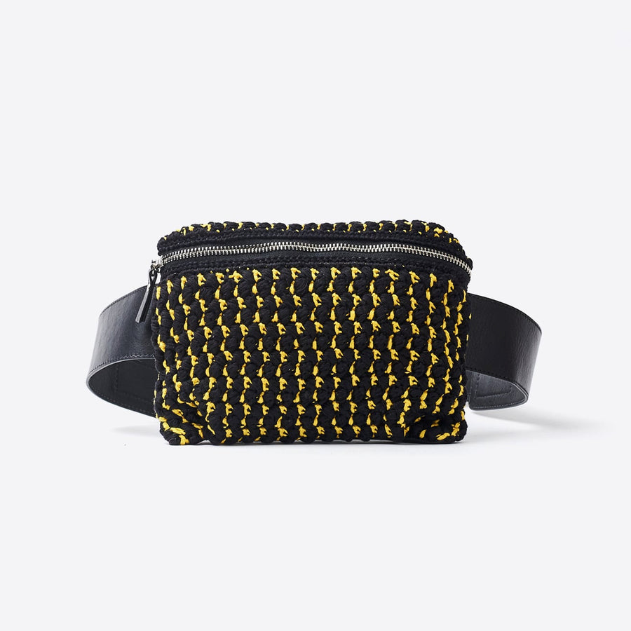 Hagen Fanny Pack-yellow/black