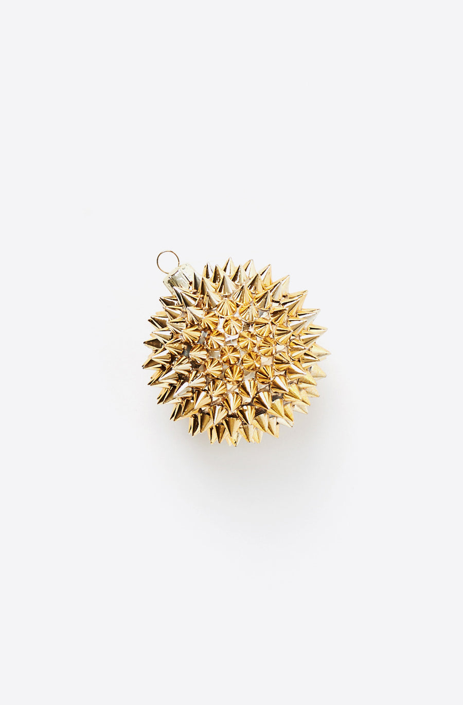 Spiked Gold Ornament-multi