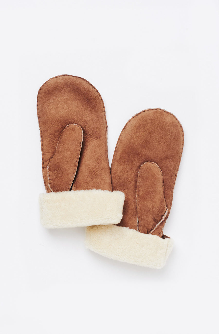 Sheepskin Sherpa Mitten-brown