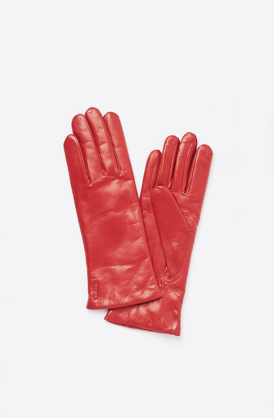 Elisabeth Leather Glove-red