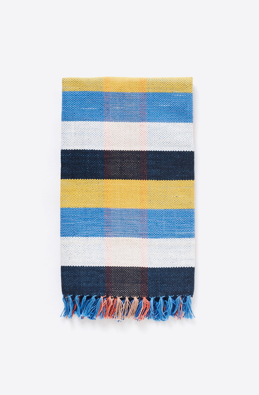 Handwoven Plaid Towel-tomoato plaid
