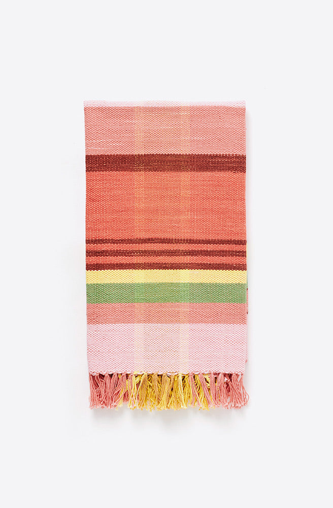 Handwoven Plaid Towel-ristra plaid