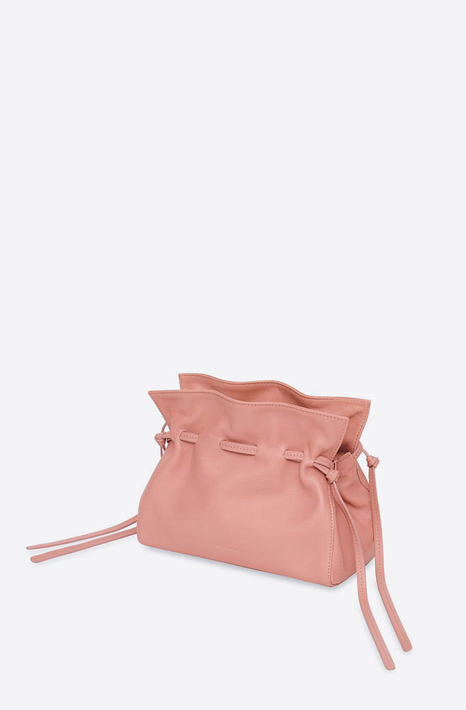 Mini Lambskin Protea Bag-coral/blush
