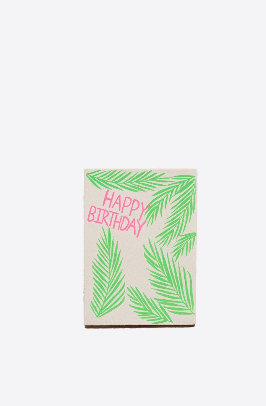 Birthday Palms Card-multi