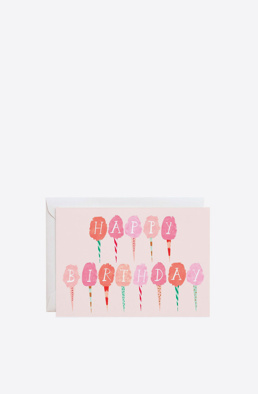 Cotton Candy for the Birthday Girl Card-multi