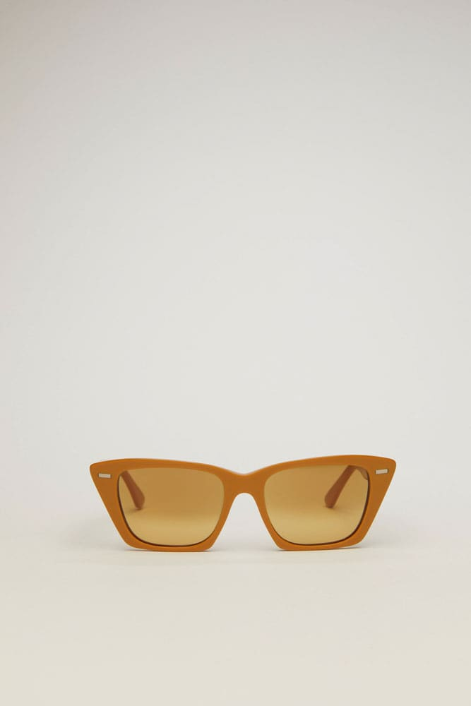 Ingridh Sunglasses-mustard yellow/yellow degrade