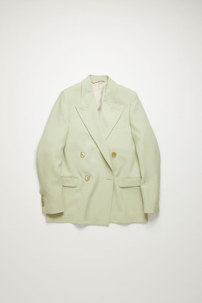 Janny Summer Suit Jacket-pastel green