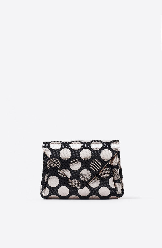 Mini Dot Wallet-black