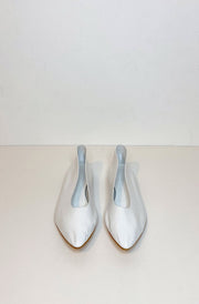 Party Kid Flats-white