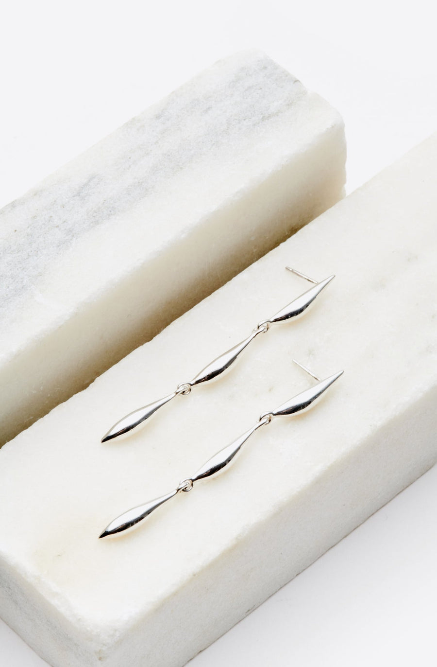 Lor Lean Earrings-silver