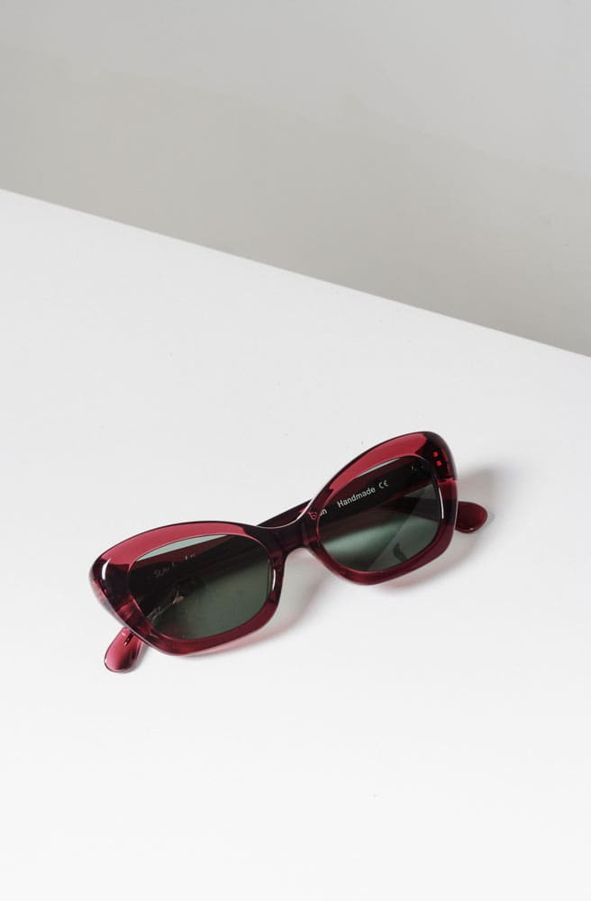 Elton Sunglasses-rasberry