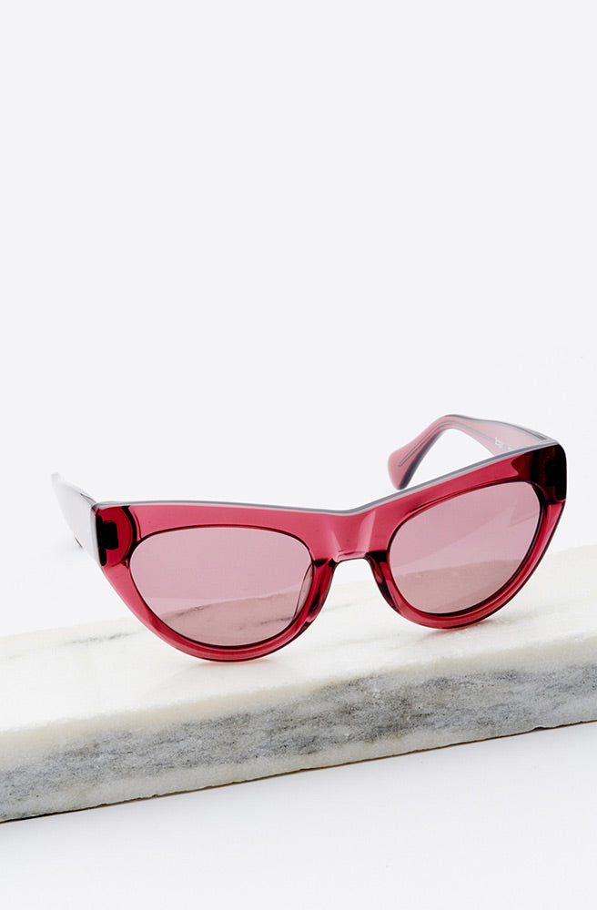 Edgar Sunglasses-rasberry
