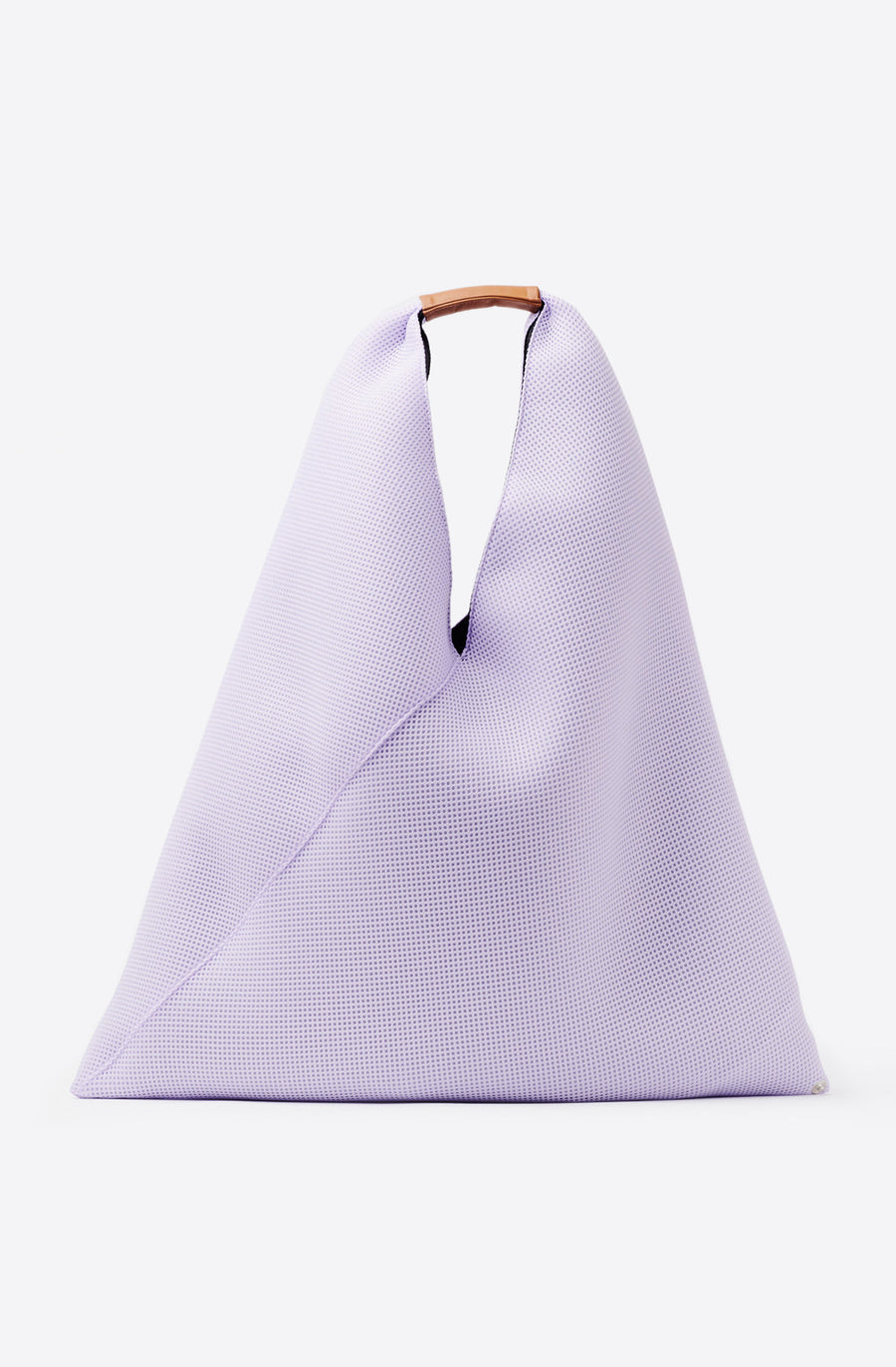 Medium Mesh Triangle Tote-lilac
