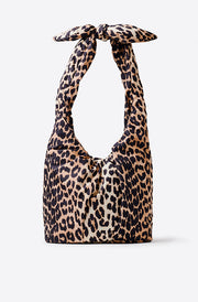 Leopard Print Padded Tech Tote Bag-leopard