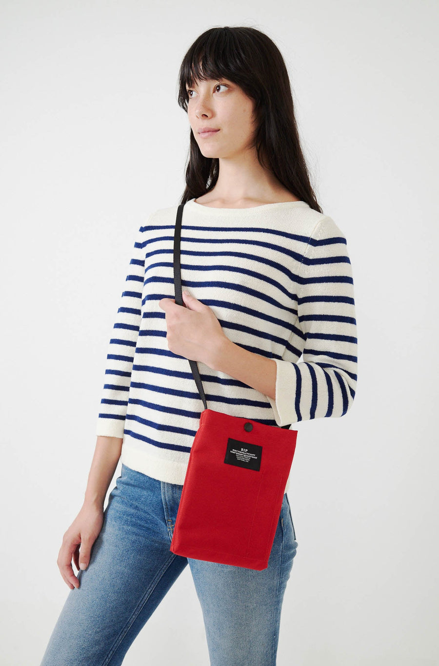 Passport Shoulder Bag-red