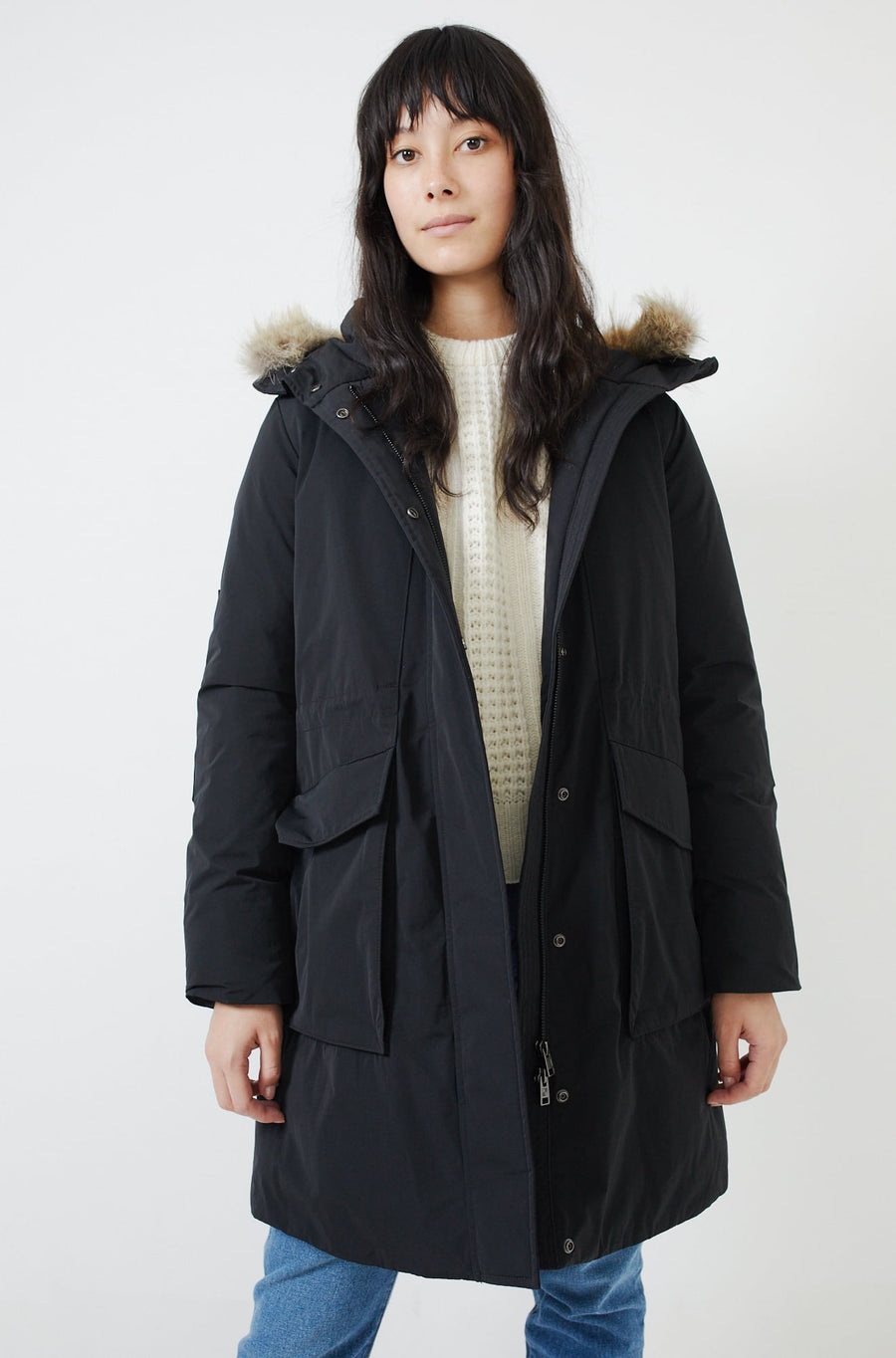 York Down Parka-black