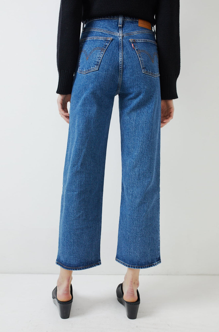 Ribcage Straight Ankle Jean-georgie