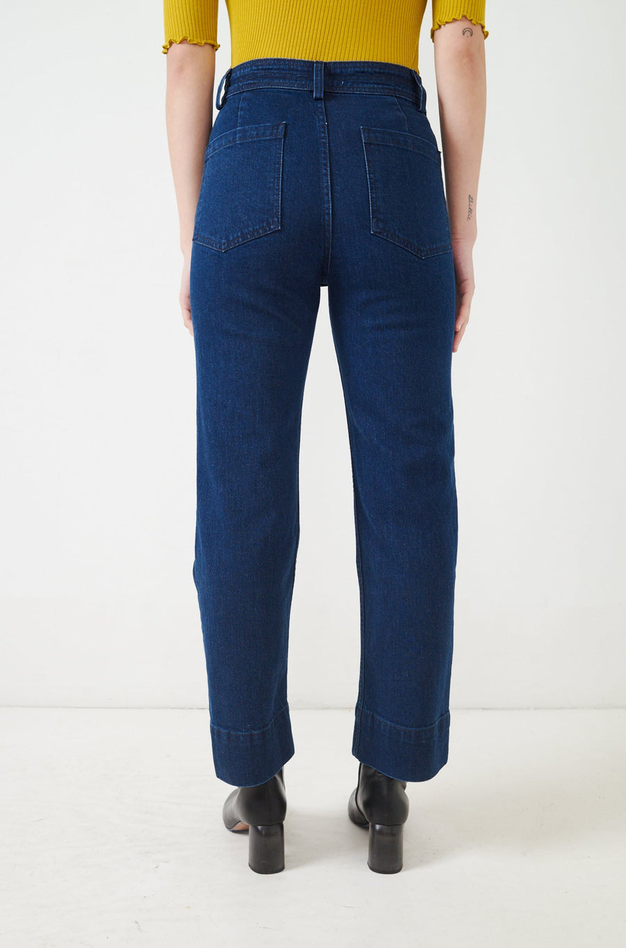 Denim Bahia Straight Leg Jean-enzyme wash