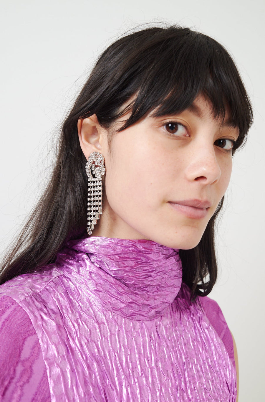 Rerun Earrings-crystal