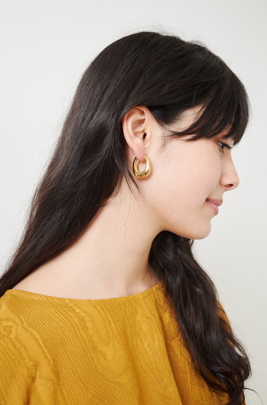 Gold Vermeil Slim Hinged Hoops-18k yellow gold