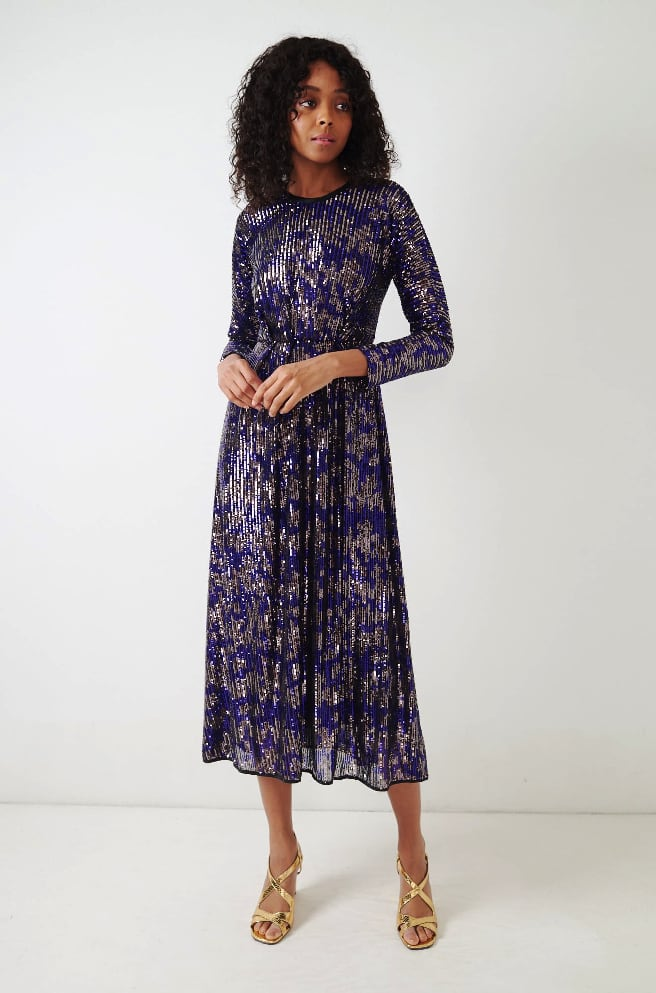 Astraea Dress-purple