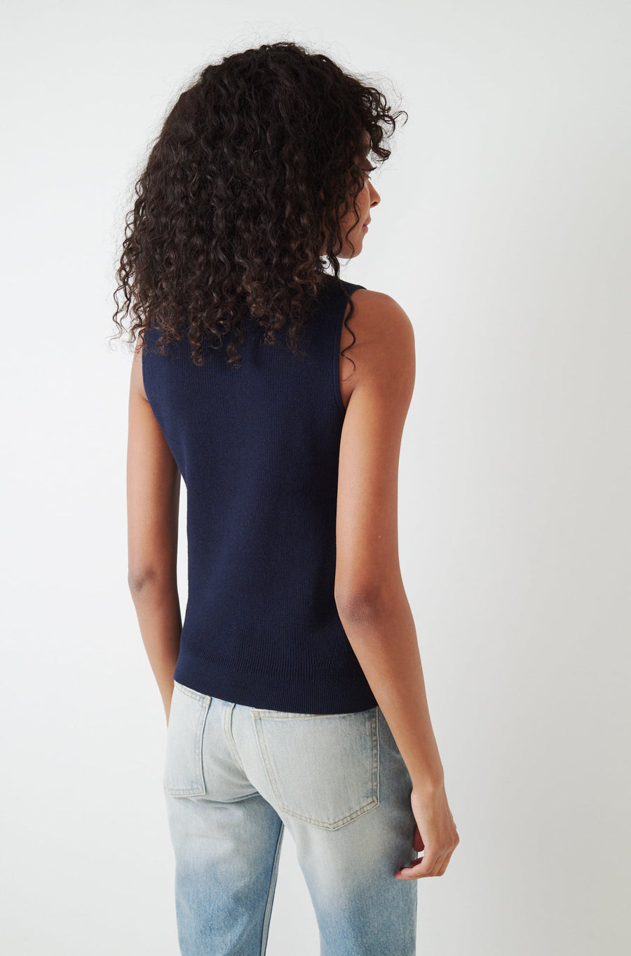 Colleen Top-navy