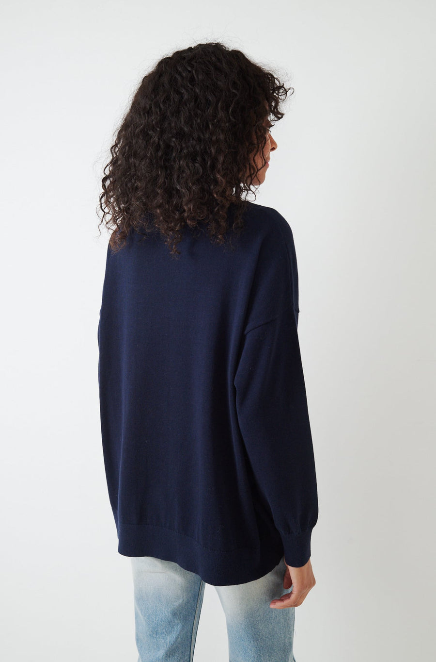 Frieda Sweater-navy