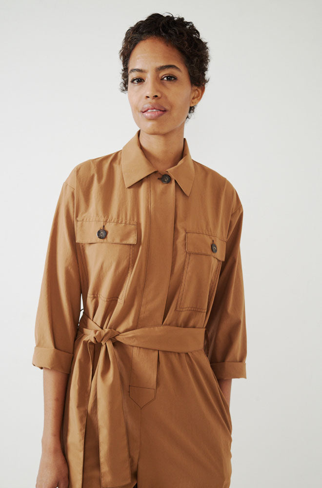 Friday Coverall-khaki