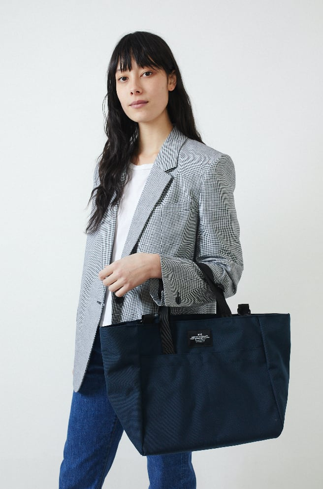 Carry On Tote Bag-navy