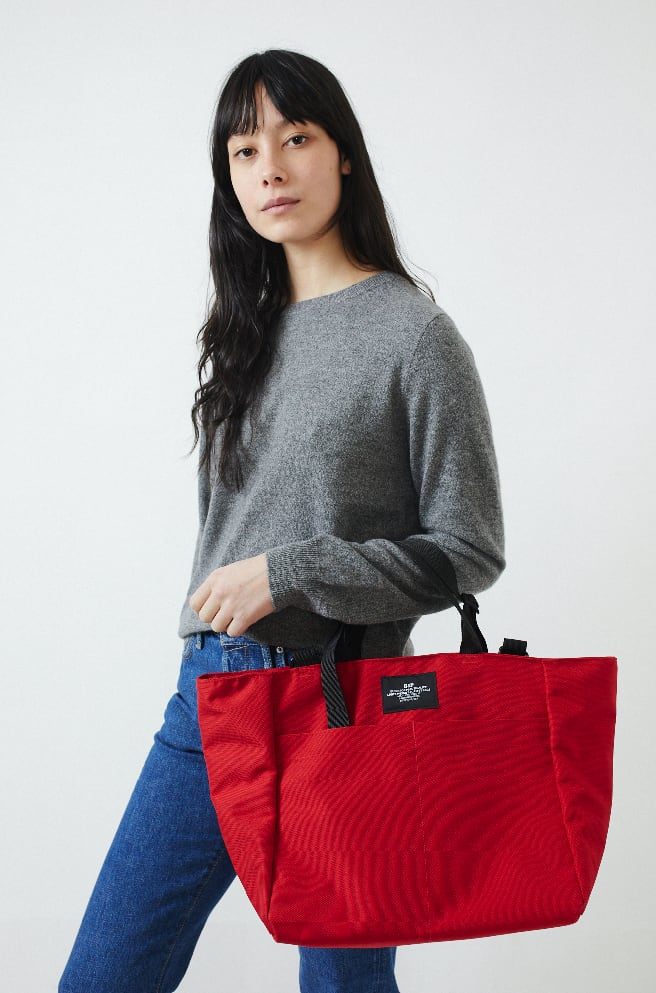 Carry On Tote Bag-red