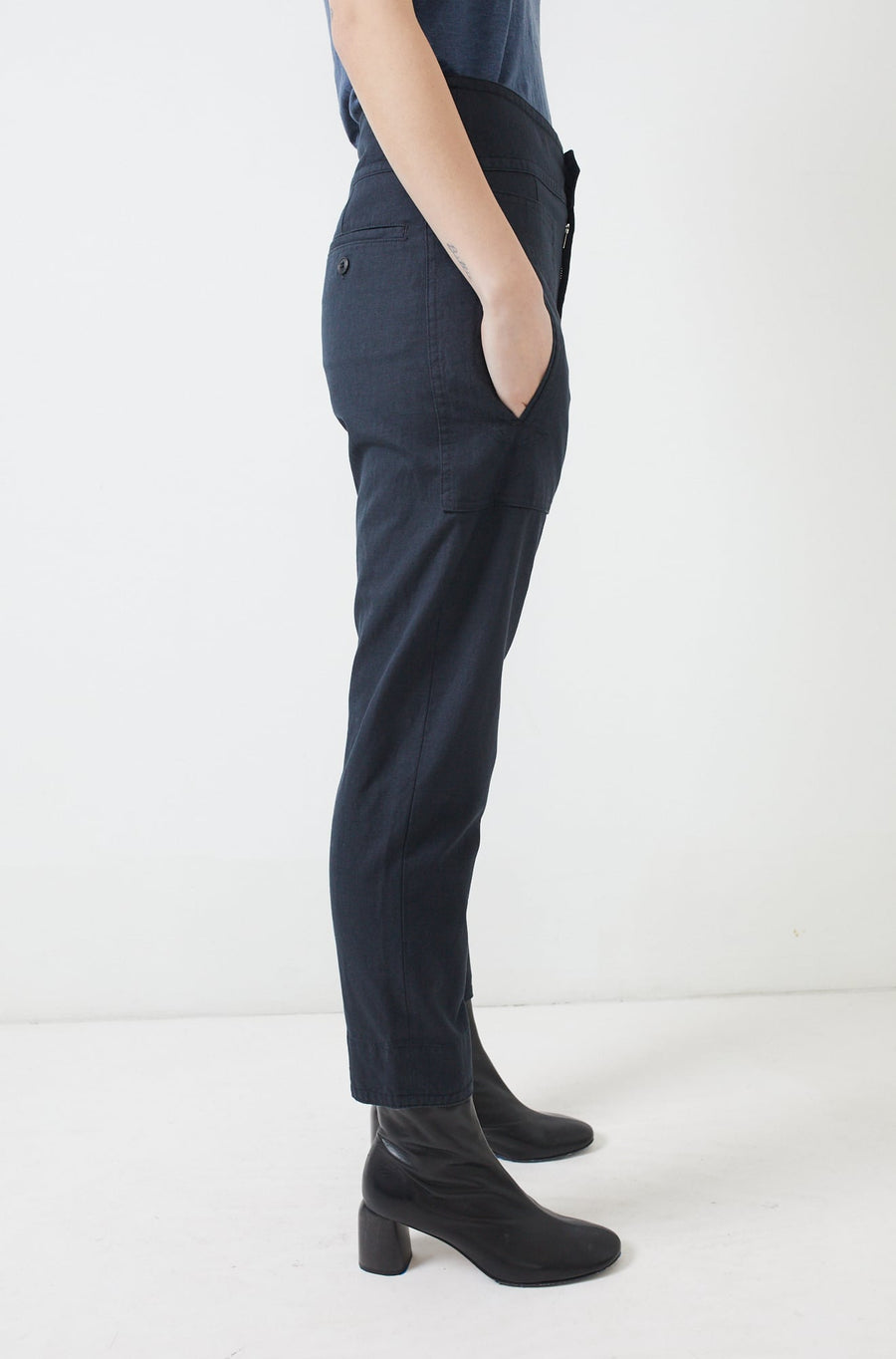 Raluni Pants-faded black
