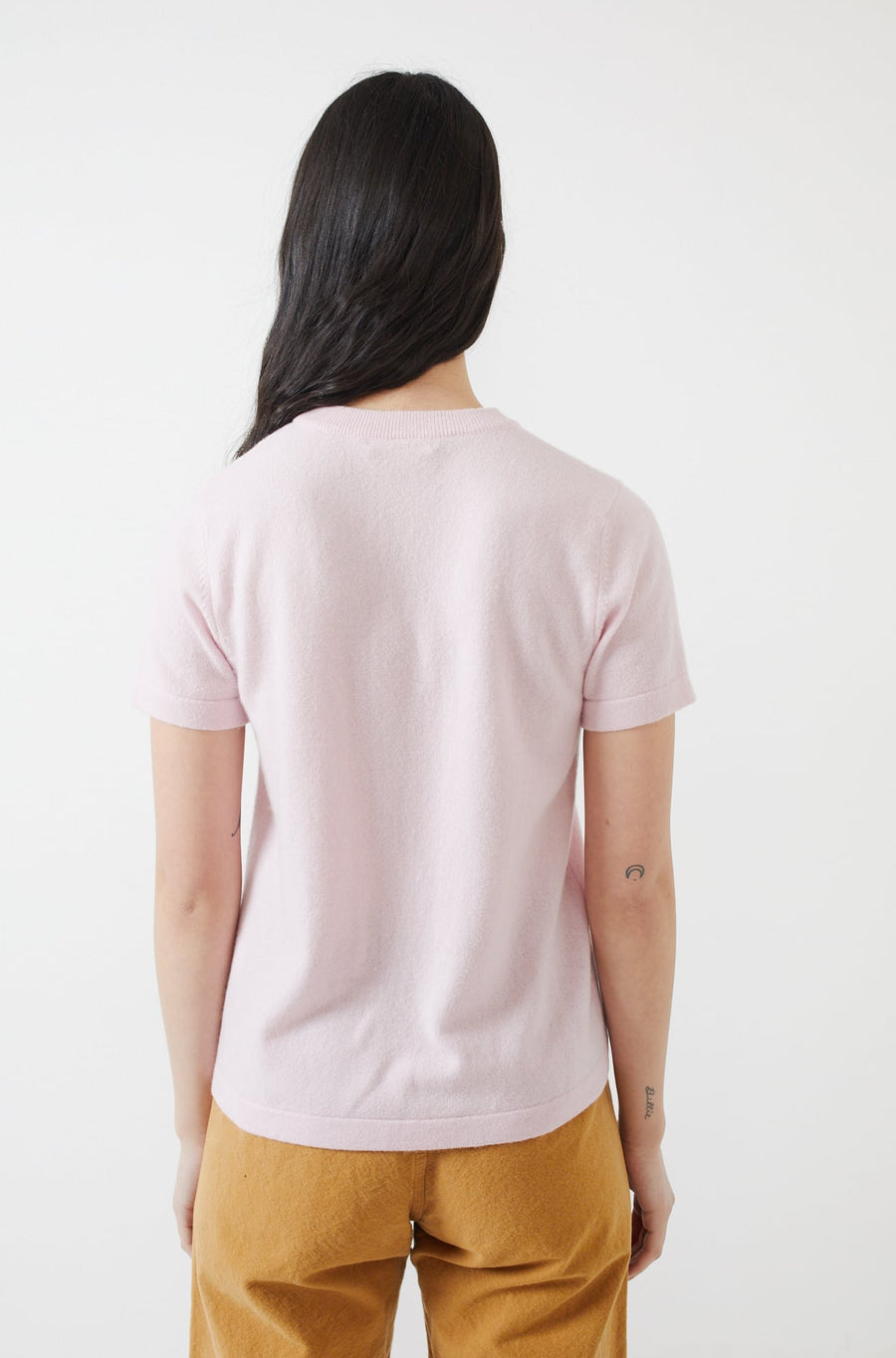 Helenne Top-pale pink