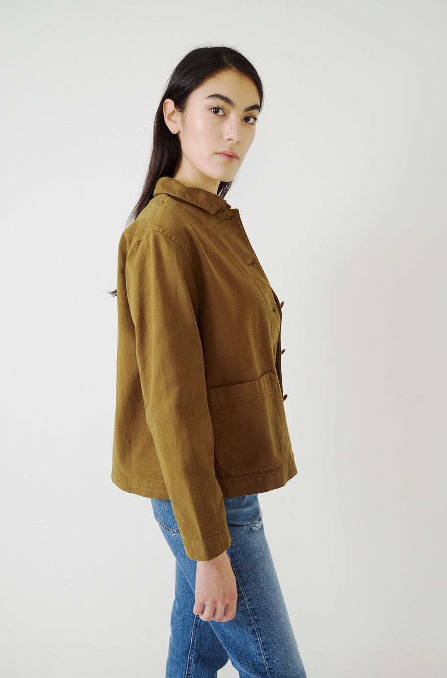 Workwear Jacket-dull gold