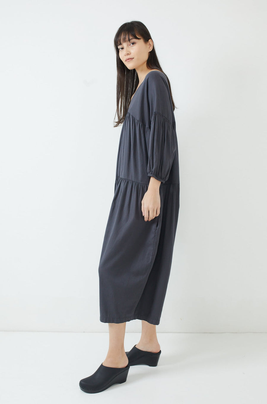 Puff Jumpsuit-f. black