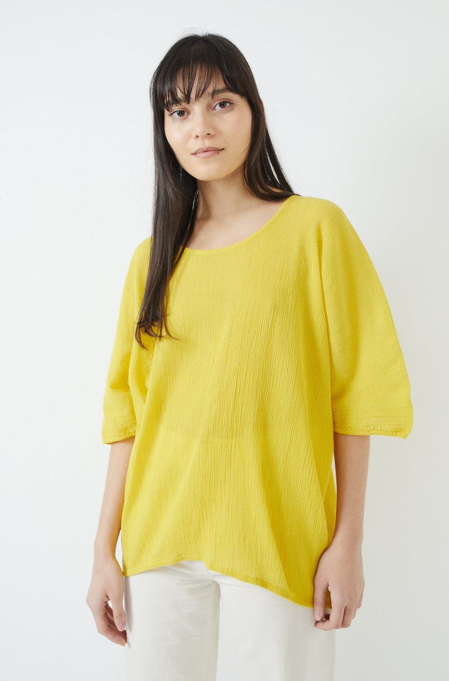 Loose Tee-yellow