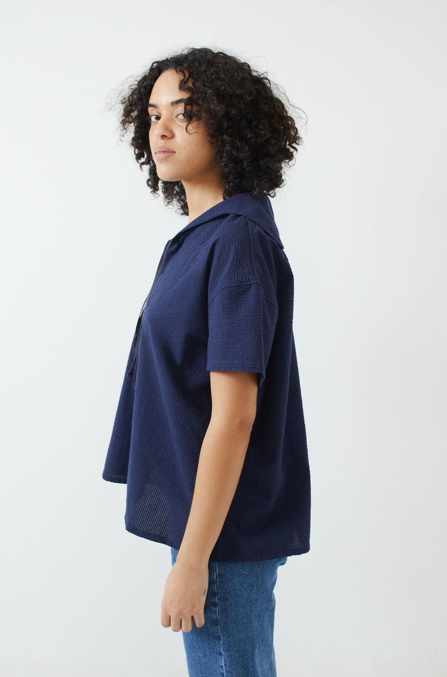 Sailor Shirt-navy