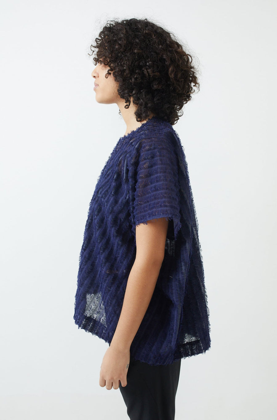 Rae Poncho Top-ink