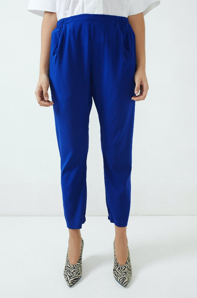 Gabi Trouser-royal blue