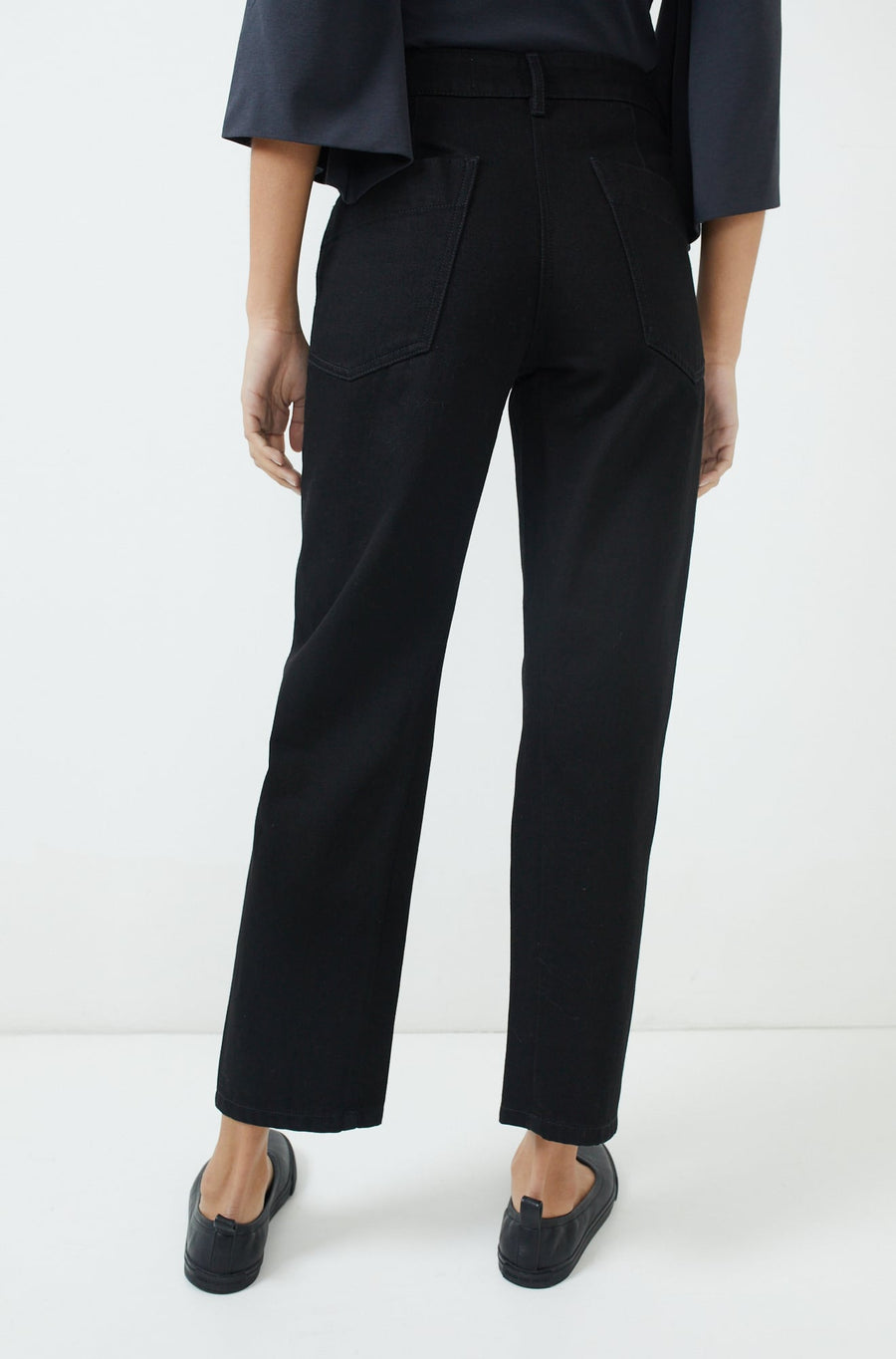 Twisted Pants-black