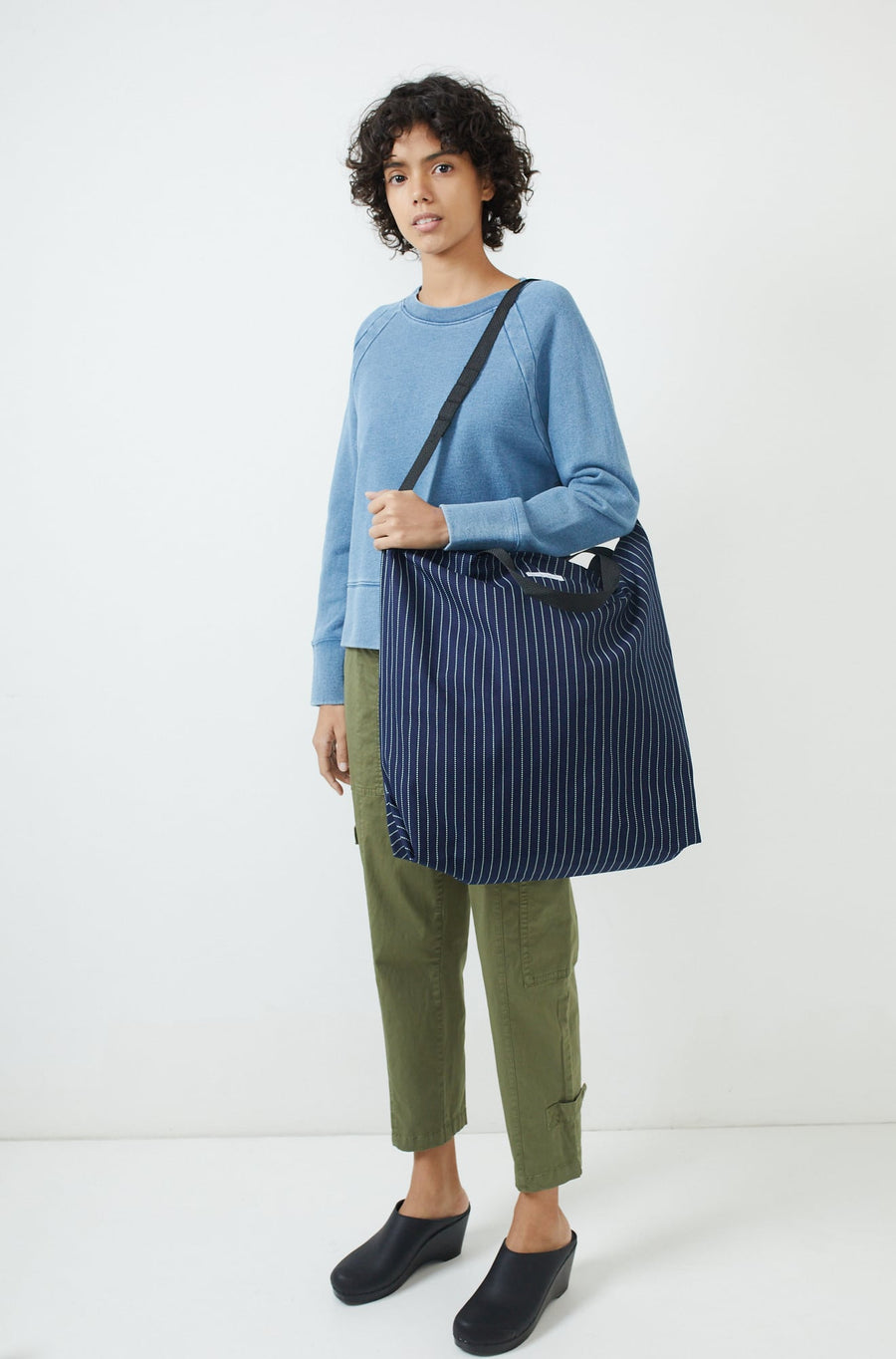 Carry All Tote-indigo