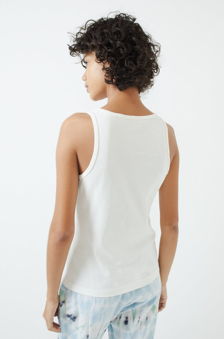 New Perfect Tank-washed white
