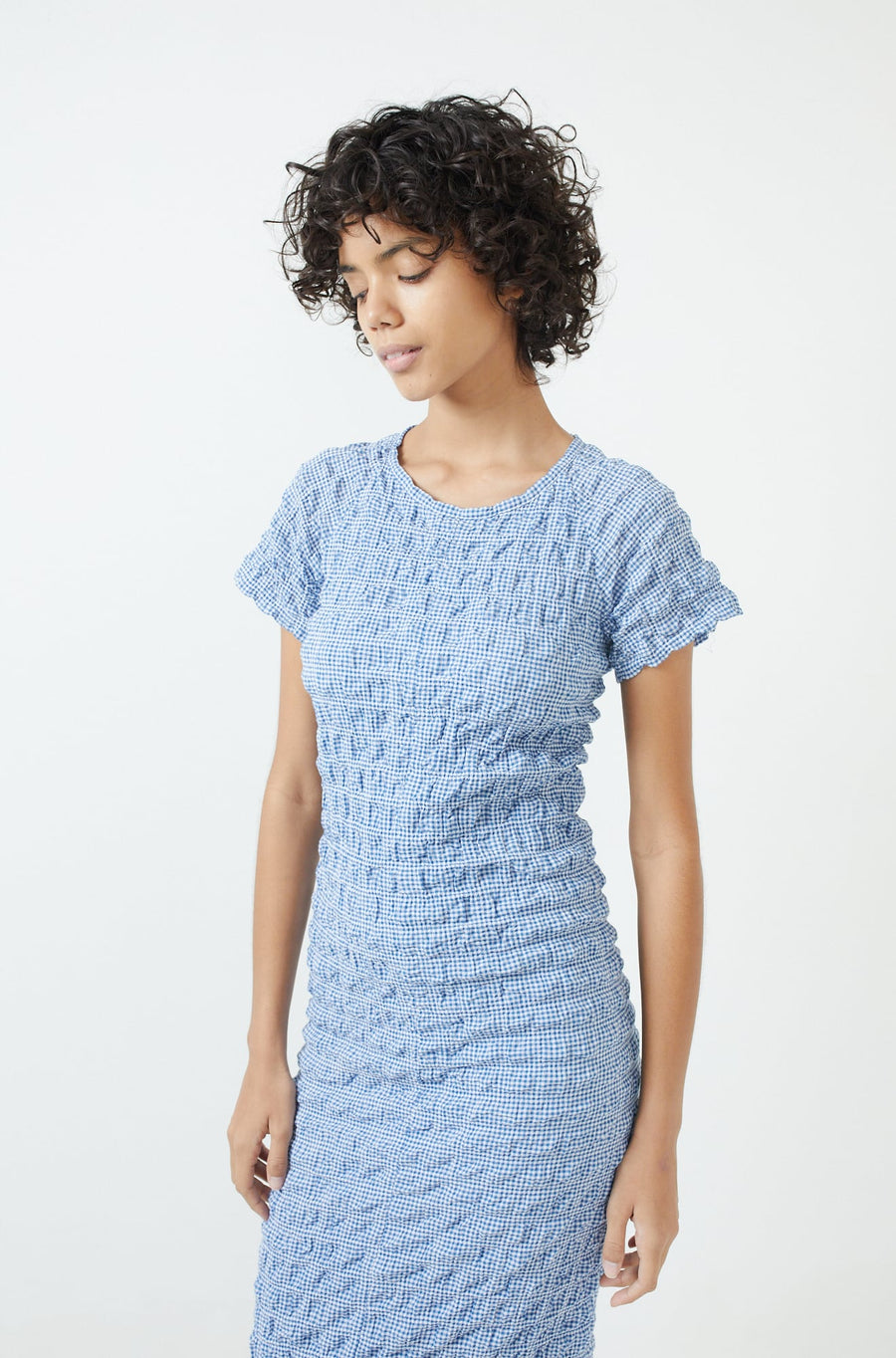 Saddie Dress-blue