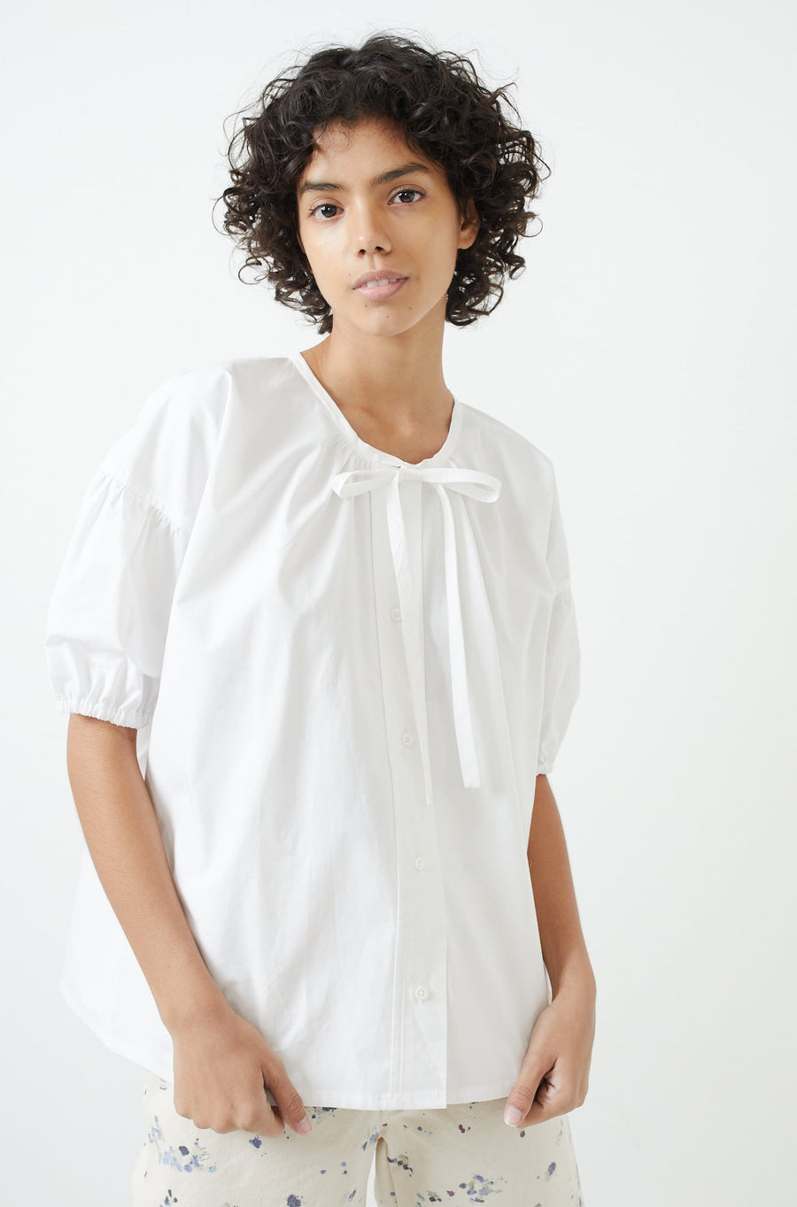 Isola Top-white
