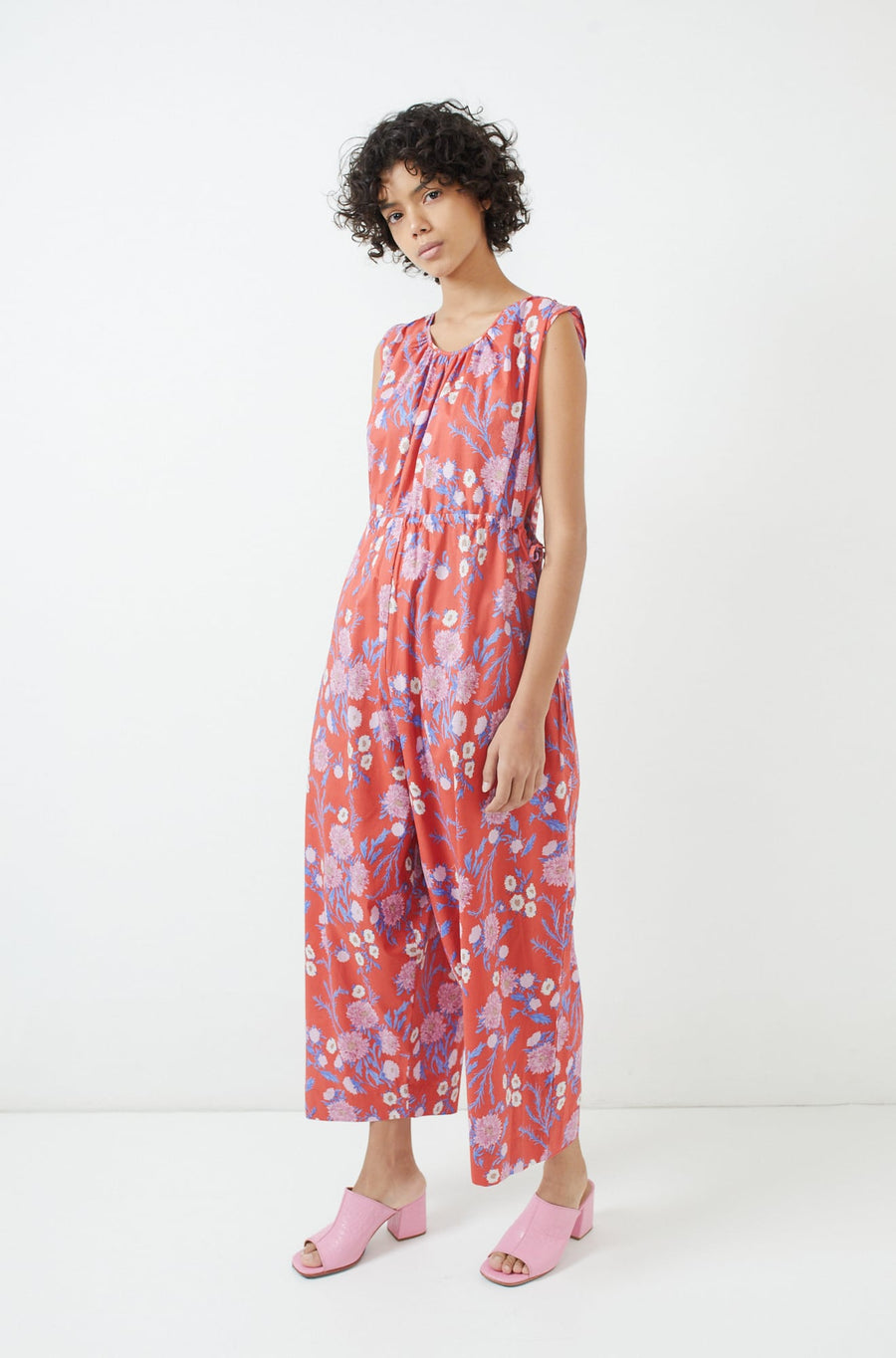 Goa Jumpsuit-red poppy