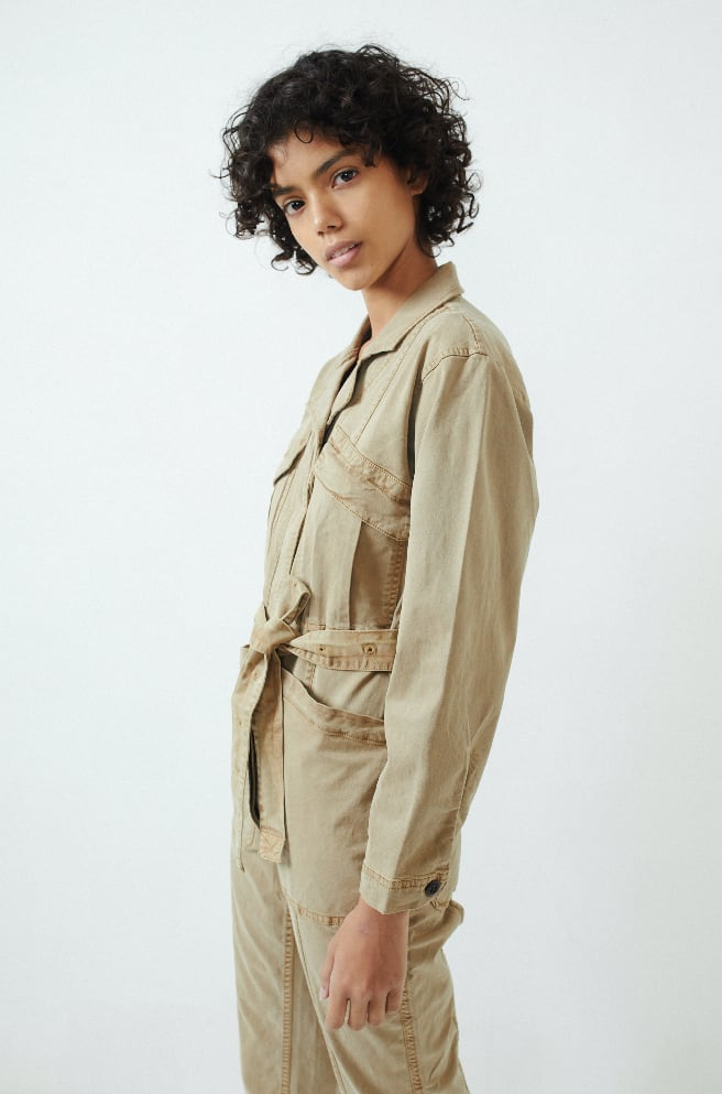 Expedition Jumpsuit-vintage khaki