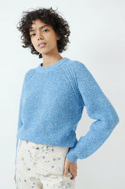 Agnes Sweater-blue confetti