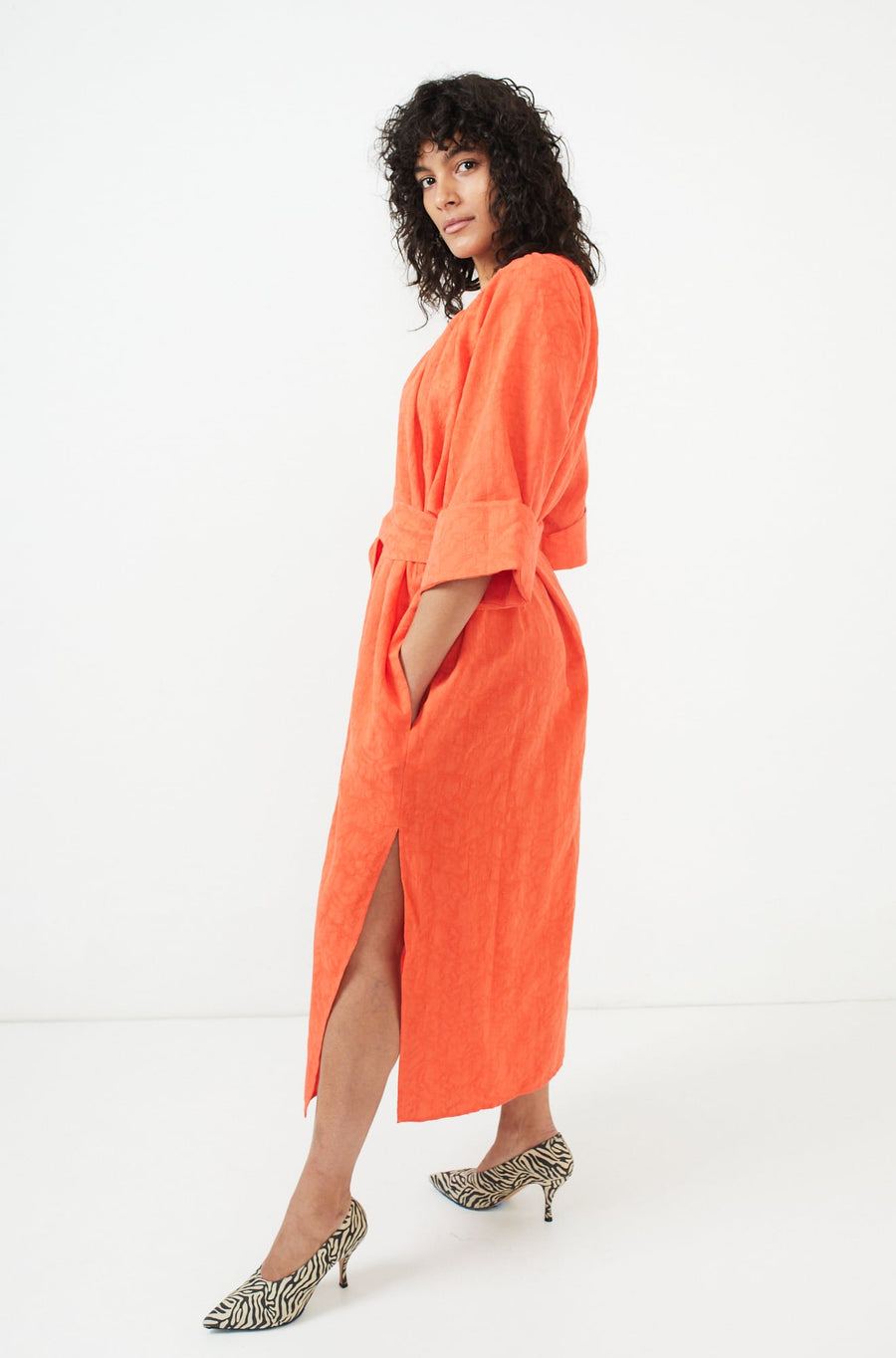 Luz Dress-orange